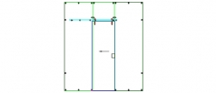 Scorpio Pipe Sliding on Glass 1 Sliding Panels