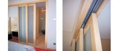 Sm Telescopic wood slide