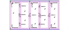 Sm WoodFold 5 Panels